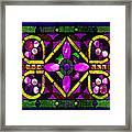 Stained Glass 3 Framed Print