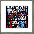 Stained Glass 47 Framed Print