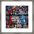 Stained Glass 51 Framed Print