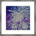 Stained Glass Beautiful Fireworks 1 Framed Print