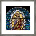 Stained Glass Pc 03 Framed Print