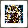 Stained Glass Pc 04 Framed Print