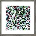 Stained Glass Window -2 Framed Print