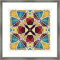 Stained Glass Window 5 Framed Print