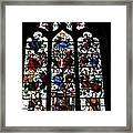 Stained Glass Window I Framed Print