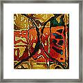 Stained Musing IIi Framed Print