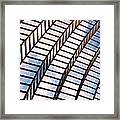 Stairway To Heaven Framed Print by Rona Black