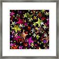 Star Belt Framed Print