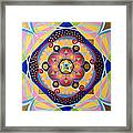 Star Mandala Framed Print
