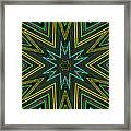 Star Of Threads Framed Print