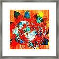 Starburst Nebula Framed Print