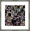 Start With Alef 16 Framed Print