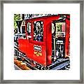 Steam Locomotive Old West V2 Framed Print