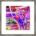 Steampunk Iron Horse #4 A Framed Print