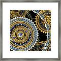 Steampunk Machine Framed Print