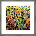 Steams And Leaves # 82 Framed Print