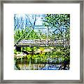 Steel Span Bridge Gettysburg Framed Print