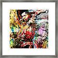 Stevie Ray Vaughan Original Framed Print