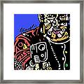Stick And Move Framed Print