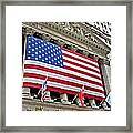 Stock Exchange Framed Print