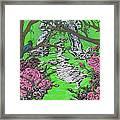 Stone Garden Framed Print