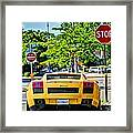 Stop Signs Are Wrong Framed Print by JC Findley