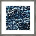 Storm At Sea Framed Print by Stephanie Grant