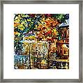 Storming Night Framed Print