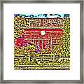 Strange Day At The Barn Framed Print