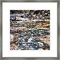 Streaming Framed Print
