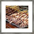 Street Food, China Framed Print