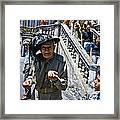 Street Scenes Interesting People Framed Print