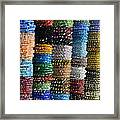 Strings Of Color Framed Print