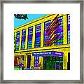 Studio Theatre Washington Dc Framed Print