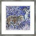 Styled Environment- Modern Kudus V3 Framed Print