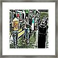 Subway Seranade Framed Print