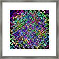 Sudoku Connections Wave Framed Print