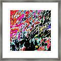 Summer Abstract Framed Print