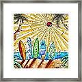 Summer Break By Madart Framed Print