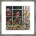 Summer Inside And Out Framed Print
