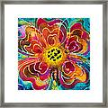 Colorful Flower Art - Summer Love By Sharon Cummings Framed Print