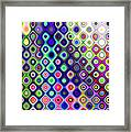 Summer's Colourful Nights Framed Print