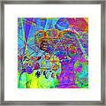 Summertime At Santa Cruz Beach Boardwalk 5d23905 Square Framed Print by Wingsdomain Art and Photography