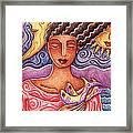 Sun Fish Moon Framed Print