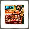 Sun Kissed Truck Framed Print