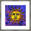 Sun Salutation Framed Print