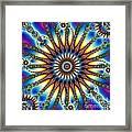 Sun Wheel 2 Framed Print