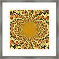 Sunflower Dance Framed Print