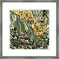 Sunlit Marsh Framed Print
