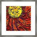 Sunny And Warm Today Framed Print